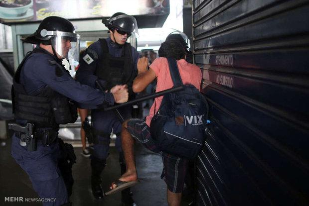 ناآرامی در برازیلیا