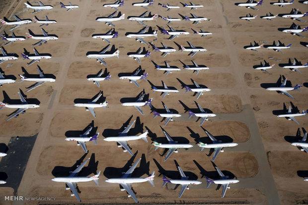 گورستان هواپیماها در آمریکا