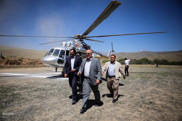 سفر حمید چیتچیان وزیر نیرو به همدان