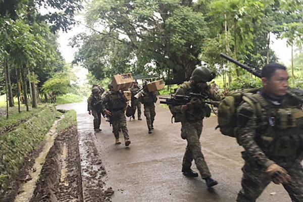 ارتش فیلیپین عملیات بازپس گیری «ماراوی» از داعش را آغاز کرد