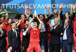 Iran win AFC U-20 Futsal Championship title