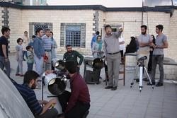 شرکت ۴۰ نفر در برنامه استهلال ماه رمضان در همدان