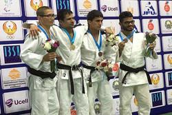İran Engelliler Judo Milli Takımı Asya'da üçüncü oldu