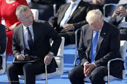 Trump'ın NATO liderleriyle görüşmesi