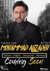 Iranian pop singer Mohammad Alizadeh to tour Australia, Canada
