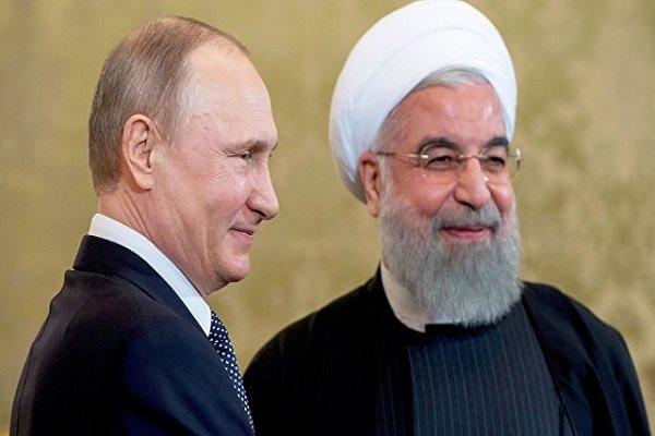 صدر حسن روحانی آج روس کے صدر پوتین سے ملاقات کریں گے