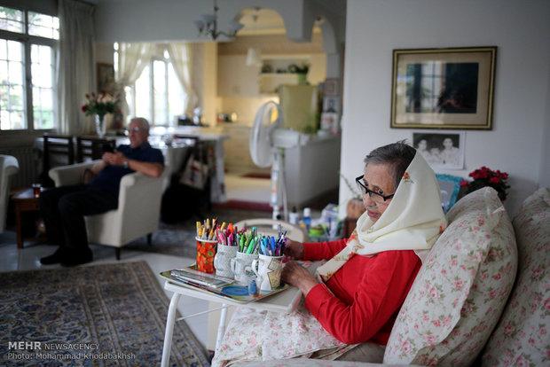 86 yaşındaki büyükanneden muhteşem sanat eserleri