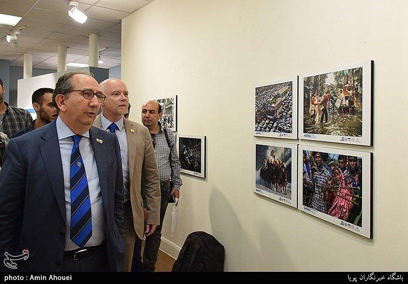 FIAP execs openphoto exhibit in Tehran