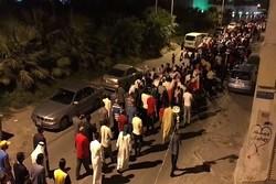 Bahreyn halkından Al Halife'ye karşı geniş çaplı gösteri