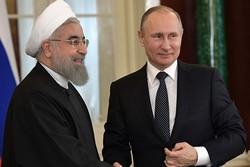 Putin, Rouhani