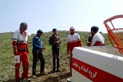 امدادگران هلال احمر جوان گمشده در ارتفاعات شبستر را نجات دادند