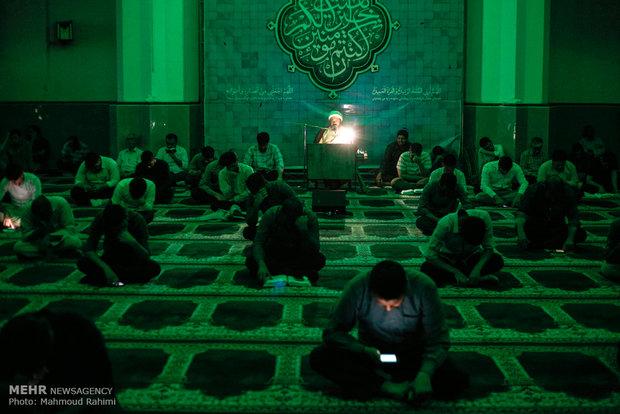 آسمان نزدیک است، مسجد دانشگاه شریف