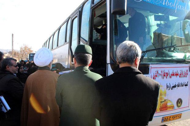 امسال 120000 مددجوی کمیته امداد به مشهد مقدس اعزام شدند