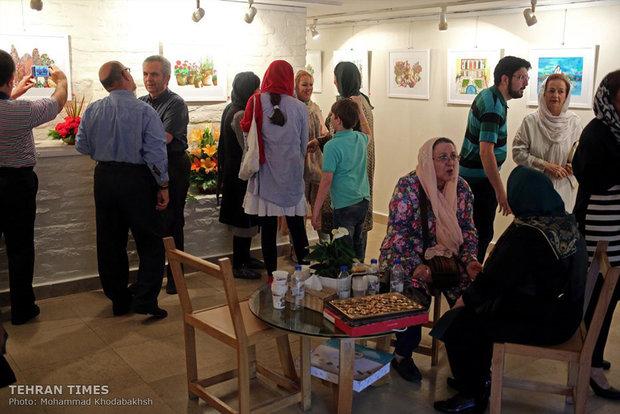 86-year-old art phenom showcases works at Golestan Gallery