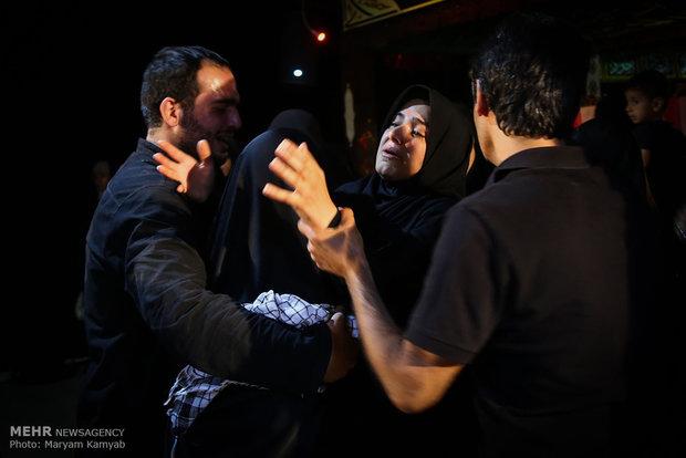 وداع با پیکر سردار شهید شعبان نصیری