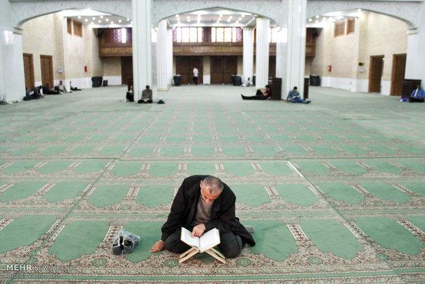 مراسم احياء تلاوة القرآن الكريم في مصلى تبريز