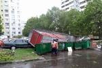 توفان در مسکو ۱۱ کشته برجای گذاشت