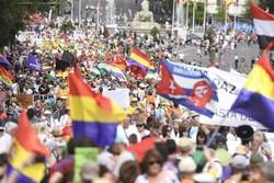 ریاضت اقتصادی به اسپانیا رسید/مردم خشگمین به خیابانها ریختند