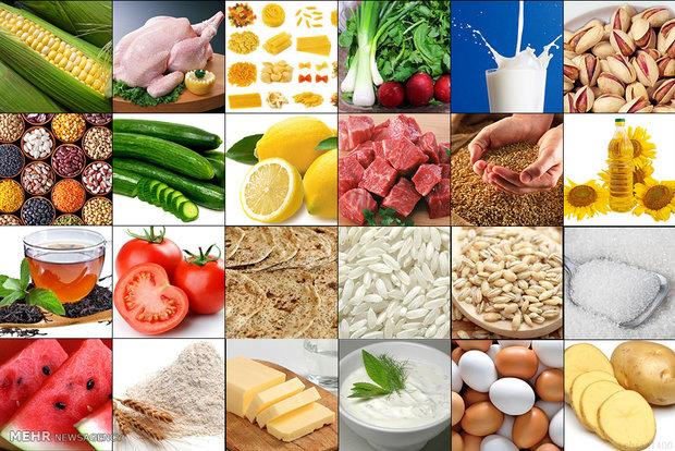 آخرین میزان میانگین رشد قیمت اقلام خوراکی اعلام شد