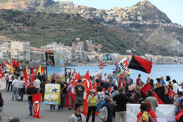 اعتراضات به نشست جی 7 در ایتالیا