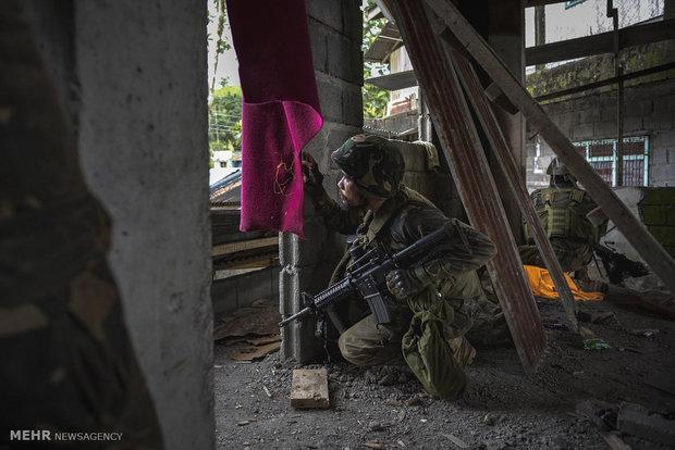 فرار فیلیپینی ها از دست داعش