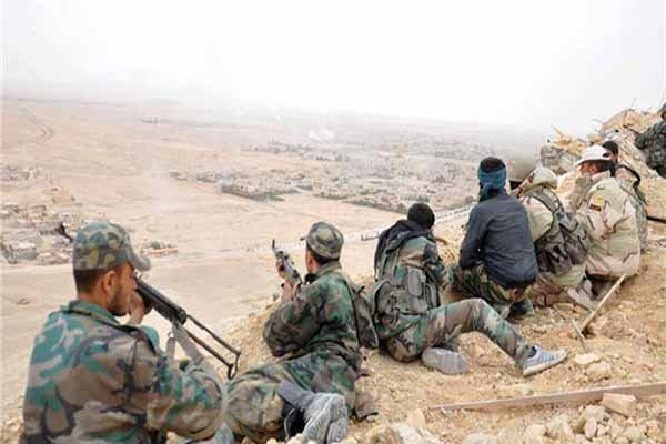 کشمکش آمریکا و سوریه برای تسلط بر مناطق مرزی عراق-سوریه