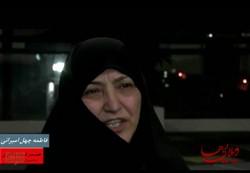 فیلم: واکنش همسران شهید باکری و نوری به فیلم ویلاییها