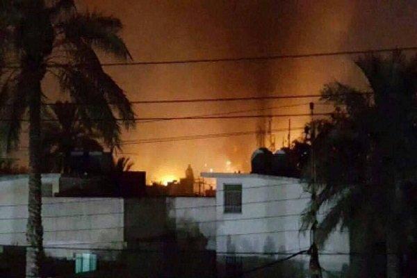 انفجار دو بمب صوتی در بغداد