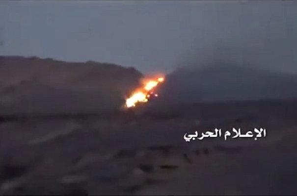 تدمير مخزن سلاح للجيش السعودي في نجران