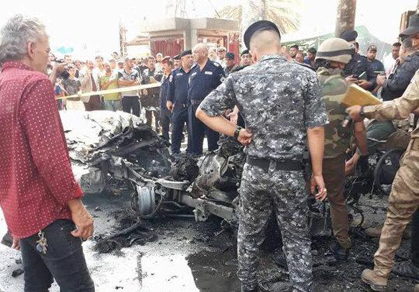 مقتل مدنيين اثنين وإصابة 10 آخرين بانفجارين منفصلين في بغداد