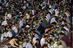 افطاری به خانواده های ایتام تحت پوشش کمیته امداد امام شهرستان اهر