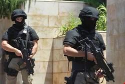 استقرار ارتش لبنان در مسیر منتهی به کاخ ریاست جمهوری