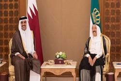 امیر قطر دوشنبه به کویت می رود