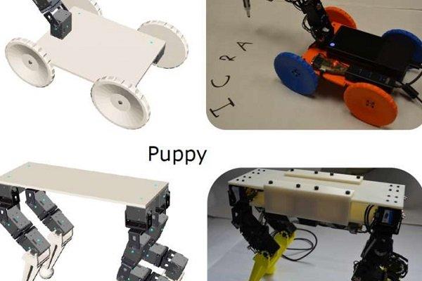با این نرم افزار به سادگی آب خوردن ربات بسازید