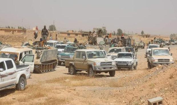 الحشد الشعبي يعلن تطهير 17 كم من الحدود العراقية السورية ومسك الساتر الحدودي