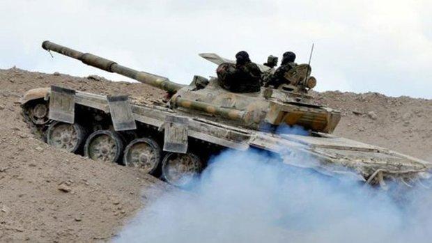 Syrian army destroys ISIL gatherings, movements in Deir Ezzor