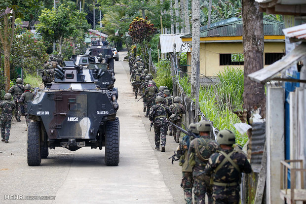 فلپائن میں داعش کے حملے میں 13 فوجی ہلاک