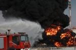 حریق کارخانه صنعتی واقع در جاده مخصوص/حادثه خسارت نداشت