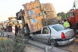 افزایش دو درصدی تلفات جاده ای خراسان رضوی در سال جاری