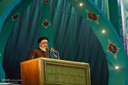استقبال پرشور مردم از حجت الاسلام محمد علی آل هاشم امام جمعه جدید تبریز