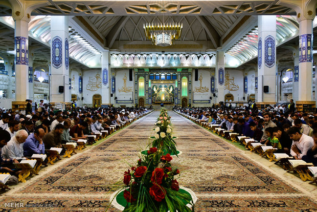 Holy Quran recited daily in Ramadan