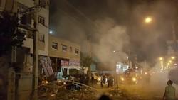 انفجار في مركز تجاري وسط مدينة شيراز /فيلم