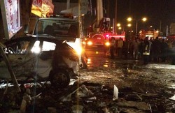 Hypermarket blast in Shiraz leaves 37 wounded