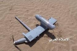 سرنگونی پهپاد جاسوسی ائتلاف سعودی در جنوب عربستان