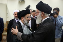 دیدار حجت الاسلام رئیسی با رهبر معظم انقلاب