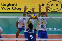 إيران تخسر أمام البرازيل بثلاثة اشواط مقابل شوط واحد