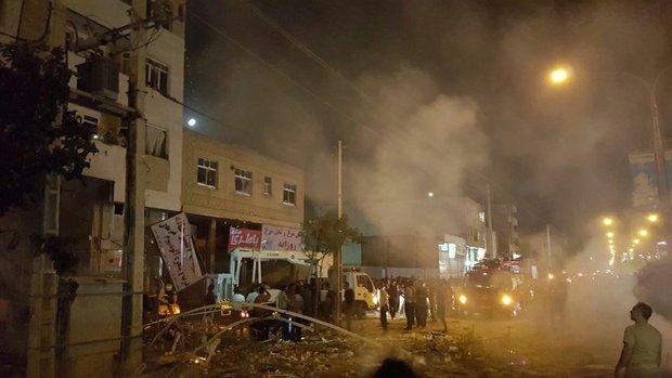 انفجار یک هایپر مارکت در شیراز