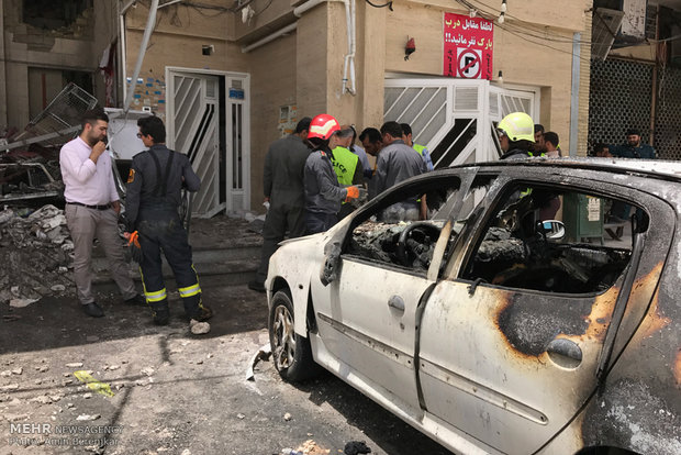 Over 30 injured in hypermarket blast in Shiraz