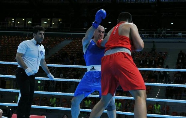Iran's boxing referee receives 3-star judge title