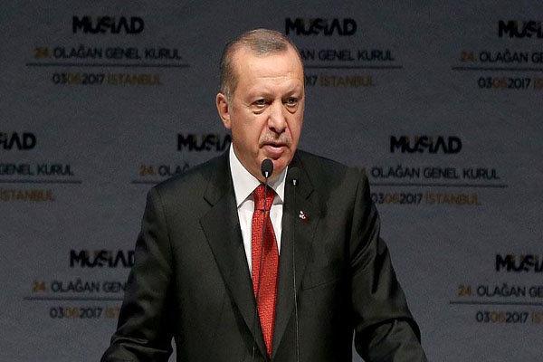 Erdoğan'dan Katar'a destek açıklaması